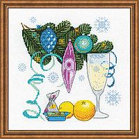 """Набор для вышивания крестом """"С Новым годом!"""", фото 1"""