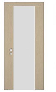 Дверь капучино матовый триплекс