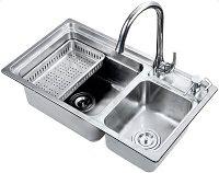 Кухонная мойка из нержавеющей стали EAGO SCL7442D