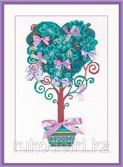 """Набор для вышивания крестом """"Дерево желаний"""""""