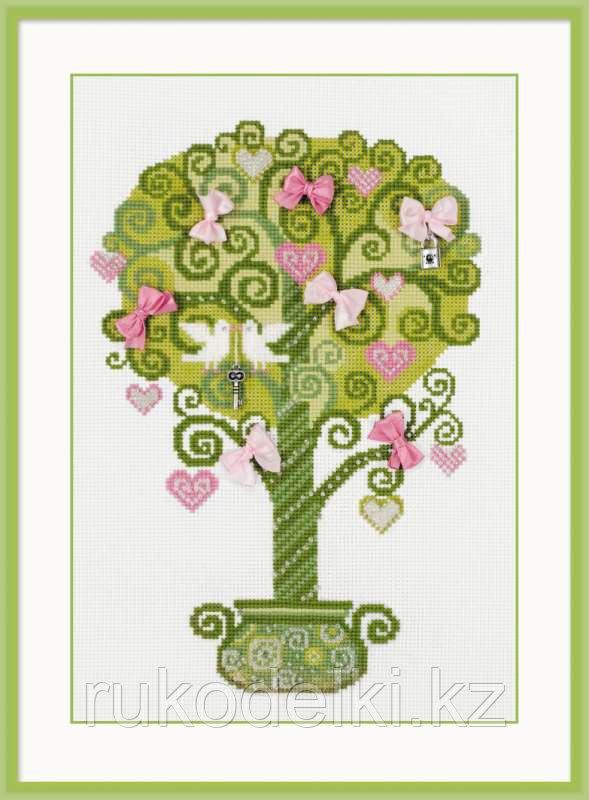 """Набор для вышивания крестом """"Дерево счастья"""""""