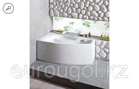 Ванна асимметричная Santek Майорка XL 160 х 95 см