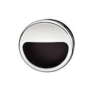 Ручка мебельная, хром/черная, 55 мм, пластмасса, фото 1