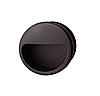 Ручка мебельная, черная, 55 мм, пластмасса
