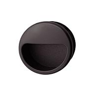 Ручка мебельная, черная, 55 мм, пластмасса, фото 1