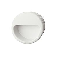 Ручка мебельная, белая, 55 мм, пластмасса, фото 1