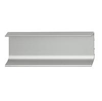 Профильная ручка, планка серебристого цвета, 2500 мм, фото 1