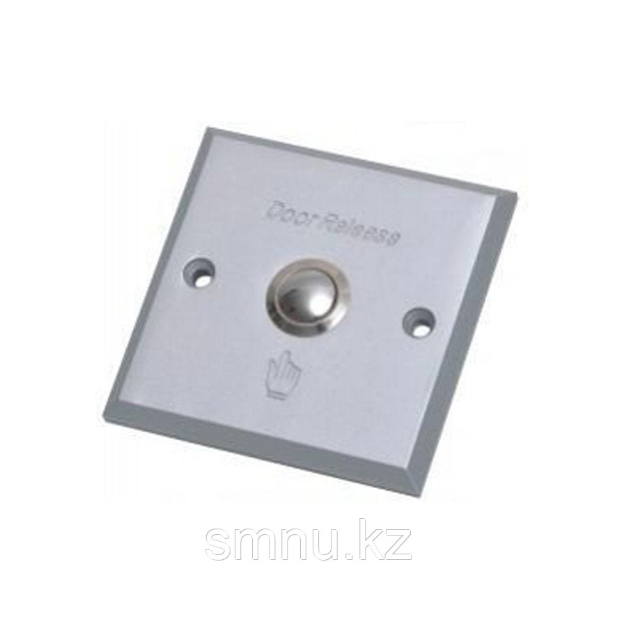 Кнопка выхода врезная (из алюминия) AL303,