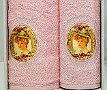 """Подарок для женщины. - Набор полотенец """"Ребека"""" в подарочной коробке. Турция. , фото 2"""