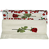 """Подарок для женщины - Полотенце подарочное """"Роза"""". 50*90 см. Турция. , фото 3"""