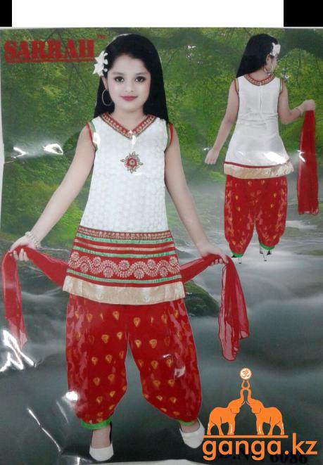 Индийский костюм для девочки (3-5 лет) - фото 1