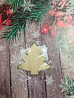 Елочка новогодняя деревянная для декора, росписи и декупажа