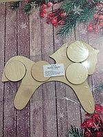 Лошадка деревянная игрушка для декора, росписи и декупажа