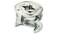 """Корпус Minifix"""", для детали толщиной начиная с 18 мм, без покрытия, цинковое литье, фото 1"""