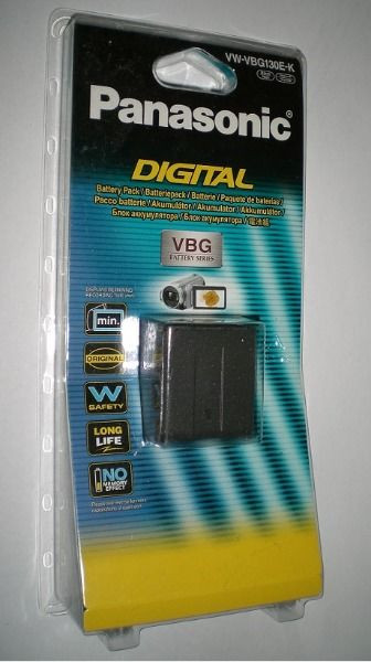 Аккумулятор PANASONIC vw-vbg130e-k