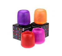 Электронная светодиодная свеча «Задуй меня» с датчиками дистанционного включения (Смайлики)