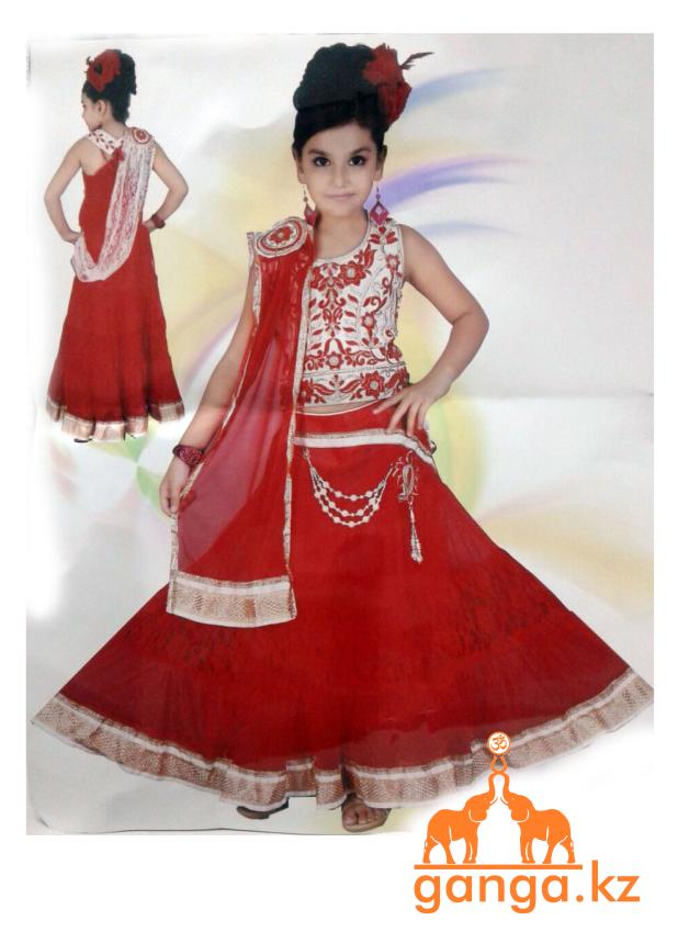 Индийский костюм для девочки (5-9 лет) - фото 1