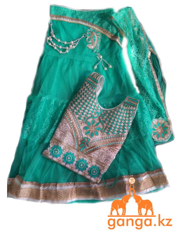 Индийский костюм для девочки (5-9 лет) - фото 4