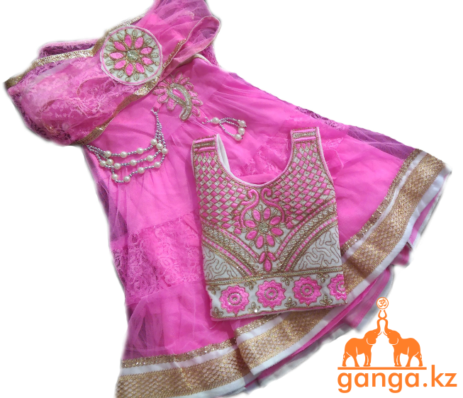 Индийский костюм для девочки (5-9 лет) - фото 3