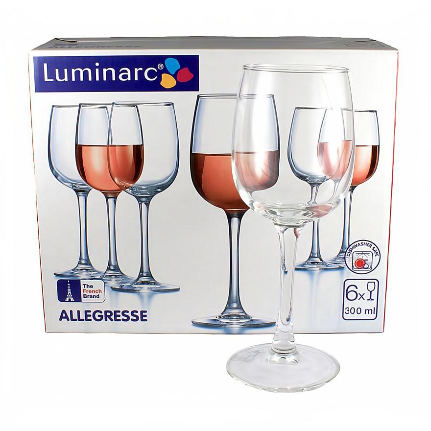 Набор Luminarc Allegresse из 6 бокалов 300 мл (J8164/6)