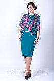 Элегантное платье приталенного силуэта. Размеры: 44, 46, 54, 56, фото 3