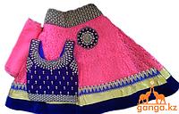 Индийский костюм для девочки (3-4 года) размер 18-20