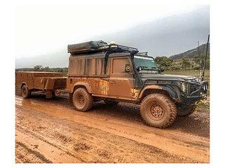 Усиленная подвеска Land Rover Defender 84-