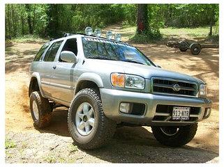 Усиленная подвеска Nissan Pathfinder R50 1995-2005