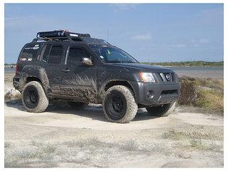 Усиленная подвеска Nissan Xterra N50 (2005-2015)