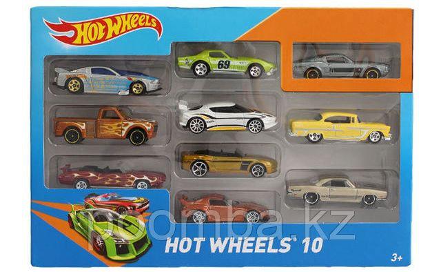 """Машинки Hot Wheels""""Подарочный набор из 10"""""""