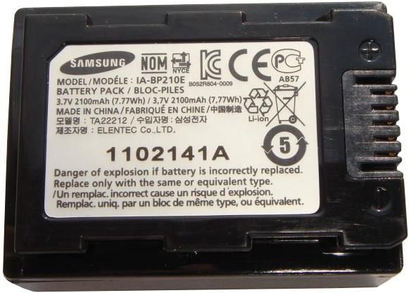 Аккумулятор samung bp 210 e