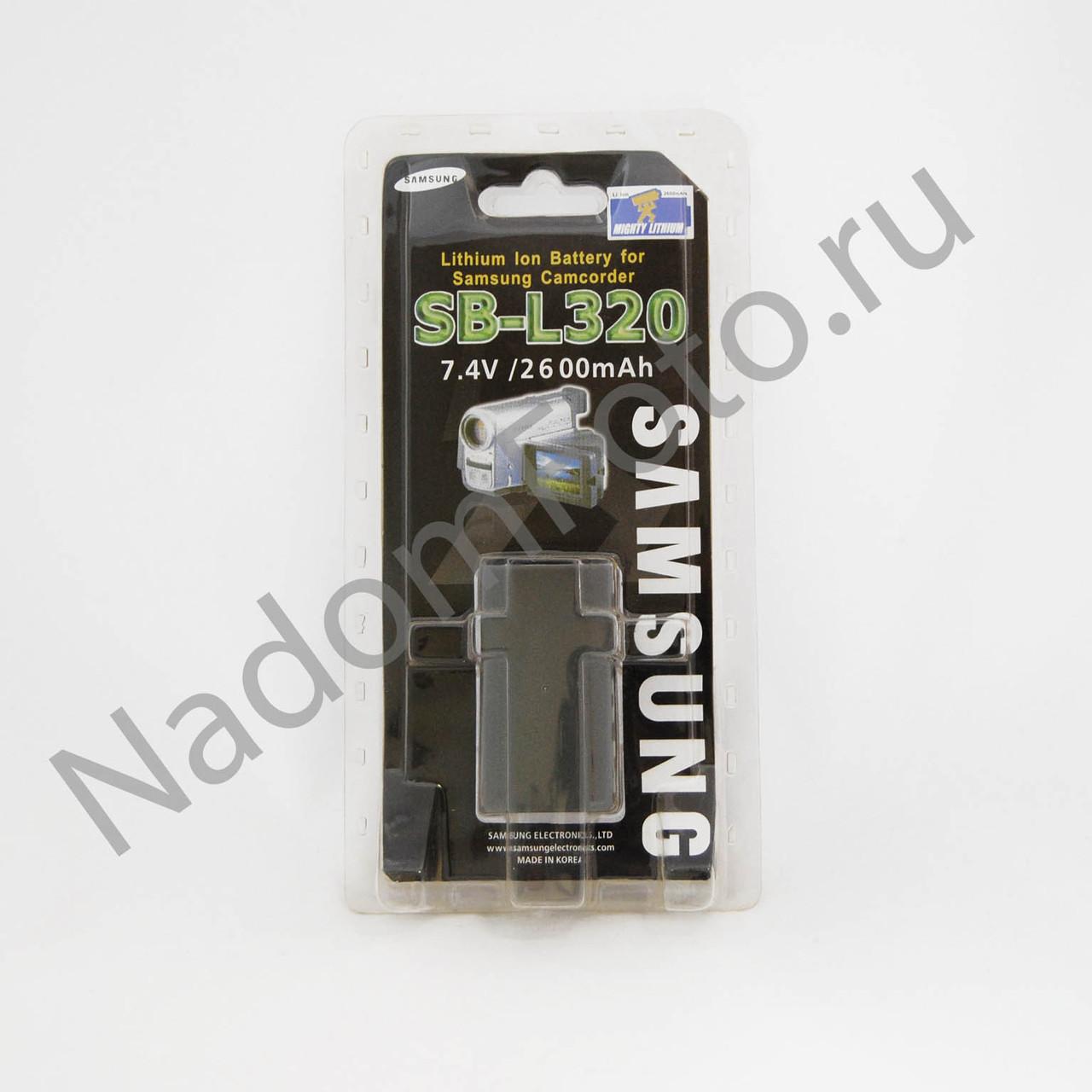 Аккумулятор Samung sb-L 110