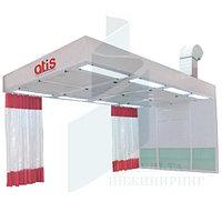 Пост подготовки к окраске ATIS PP 422 с боковым забором воздуха