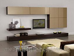 Гостиные, горки, мебель для гостиной на заказ в Алматы, фото 2