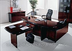 Мебель для кабинет руководителя на заказ Алматы, фото 2
