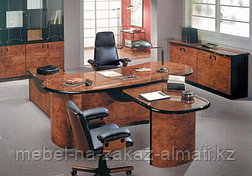 Офисная мебель для руководителей на заказ Алматы, фото 2