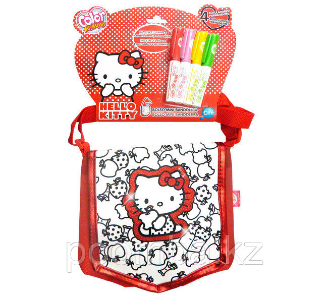 "Color me mine""Hello Kitty""сумка раскраска"