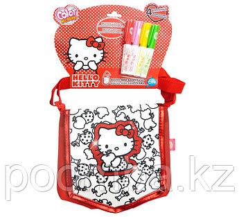 "Color me mine""Hello Kitty""сумка раскраска"