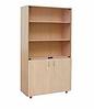 Шкаф для учебных пособий (со стеклом)