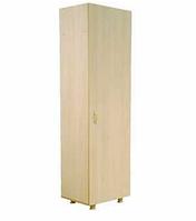 Шкаф для учебных пособий узкий (одностворчатый)