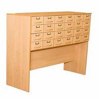 Шкаф картотечный. 24 ящика.