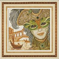 """Набор для вышивания крестом """"Венецианская маска. ОН"""""""