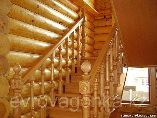 Ступени лестниц лиственница 40х300х1200 в Алматы