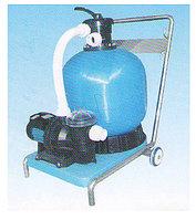 Песочный фильтр с насосом и тележкой (комплект)