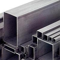 Труба квадратная нержавеющая 10х10-500х300мм сталь 08х17н13м3т
