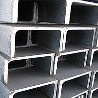 Швеллер горячекатаный П10 сталь 3СП5 09Г2С С255 С345 10ХСНД 15ХСНД ГОСТ 8240-89