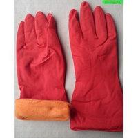 Перчатки резиновые, хозяйственные (утепленные)
