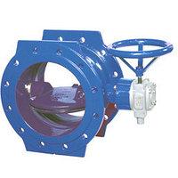 Затворы запорно-регулирующие Ду 40 - 2800 мм Ру 0,1 - 25 кгс