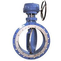 Затвор дисковый Ду 40 - 2800 мм Ру 0,1 - 25 кгс