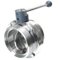 Затвор стальной Ду 40 - 2800 мм Ру 0,1 - 25 кгс